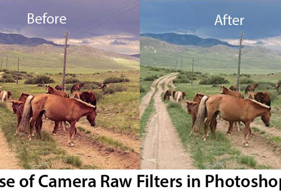Use of Camera Raw Filters in Photoshop